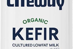 Organic Natural Kefir Cultured Lowfat Milk