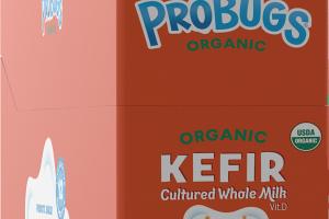 ORGANIC CREAMY ORANGE KEFIR CULTURED WHOLE MILK