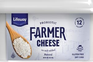 PROBIOTIC NATURAL FARMER CHEESE
