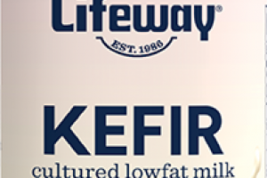 STRAWBERRY BANANA KEFIR CULTURED LOWFAT MILK