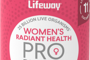PROBIOTICS WOMEN'S RADIANT HEALTH DIETARY SUPPLEMENT CAPSULES