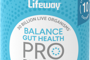 PROBIOTICS BALANCE GUT HEALTH DIETARY SUPPLEMENT CAPSULES