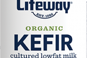 STRAWBERRY KEFIR CULTURED LOWFAT MILK