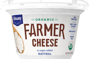 ORGANIC FARMER CHEESE