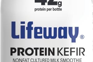 MIXED BERRY PROBIOTIC PROTEIN KEFIR LOWFAT CULTURED MILK SMOOTHIE