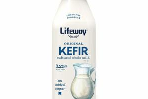 PLAIN UNSWEETENED ORIGINAL CULTURED WHOLE MILK KEFIR