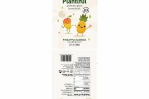 PINEAPPLE MANGO DAIRY FREE PROBIOTIC PLANT BASED DRINK