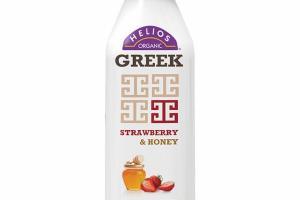 STRAWBERRY & HONEY GREEK NONFAT KEFIR CULTURED MILK SMOOTHIE