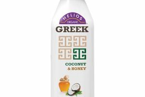 COCONUT & HONEY ORGANIC GREEK CULTURED NONFAT KEFIR MILK SMOOTHIE