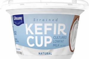 NATURAL STRAINED KEFIR CUP CULTURED LOWFAT MILK