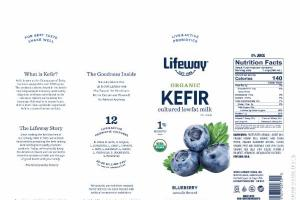 BLUEBERRY KEFIR CULTURED LOWFAT MILK