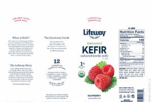 RASPBERRY KEFIR CULTURED LOWFAT MILK