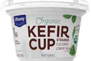NATURAL KEFIR CUP STRAINED CULTURED LOWFAT MILK