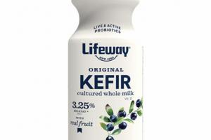 BLUEBERRY ORIGINAL KEFIR CULTURED WHOLE MILK