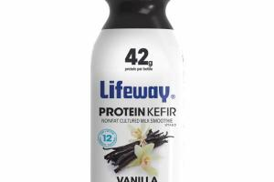 VANILLA PROBIOTIC PROTEIN KEFIR LOWFAT CULTURED MILK SMOOTHIE