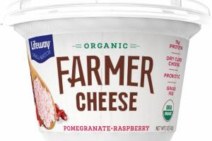 ORGANIC POMEGRANATE, RASPBERRY FARMER CHEESE