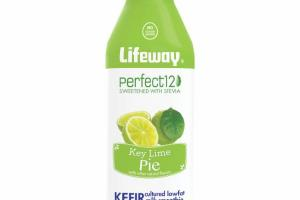KEY LIME PIE KEFIR CULTURED LOWFAT MILK SMOOTHIE
