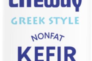 STRAWBERRY GREEK STYLE KEFIR CULTURED NONFAT MILK
