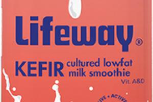 LIMITED EDITION WATERMELON KEFIR CULTURED LOWFAT MILK SMOOTHIE