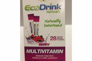 NATURALLY SWEETENED BERRY MULTIVITAMIN DIETARY SUPPLEMENT