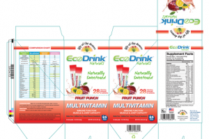 FRUIT PUNCH MULTIVITAMIN IMMUNE FUNCTION MUSCLE & JOINT CAPACITY STICK