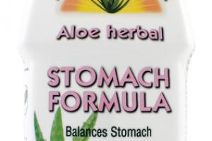 A FRESH MINT TASTE ALOE HERBAL STOMACH FORMULA DIETARY SUPPLEMENT