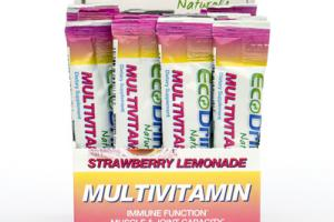 MULTIVITAMIN IMMUNE FUNCTION MUSCLE & JOINT CAPACITY STICK PACKS, STRAWBERRY LEMONADE