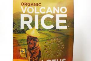 Organic Volcano Rice