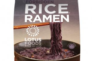Organic Forbidden Rice Ramen
