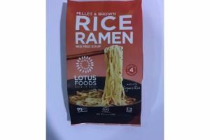 MILLET & BROWN RICE RAMEN RED MISO SOUP