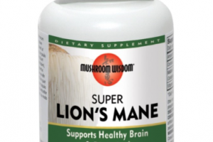 SUPER LION'S MANE SUPPORTS HEALTHY BRAIN & DIGESTION DIETARY SUPPLEMENT VEGETARIAN TABLETS
