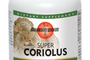 SUPER CORIOLUS IMMUNE & LIVER SUPPORT DIETARY SUPPLEMENT VEGETARIAN TABLETS