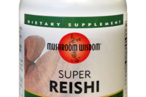 SUPER REISHI SUPPORTS IMMUNE & OPTIMAL HEALTH DIETARY SUPPLEMENT VEGETARIAN TABLETS