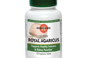 SUPER ROYAL AGARICUS SUPPORTS HEALTHY IMMUNE & KIDNEY FUNCTION DIETARY SUPPLEMENT VEGETARIAN TABLETS