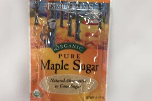 Organic Pure Maple Sugar