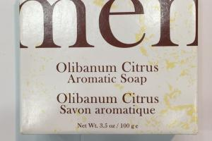 Olibanum Citrus Aromatic Soap