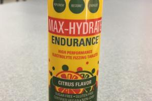 Max-hydrate Endurance Dietary Supplement
