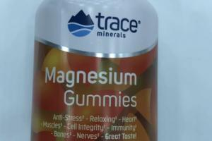 MAGNESIUM  DIETARY SUPPLEMENT GUMMIES, TANGERINE