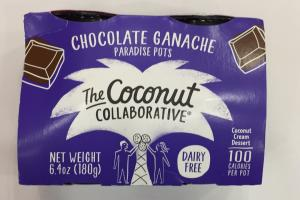Chocolate Ganache Coconut Cream Dessert