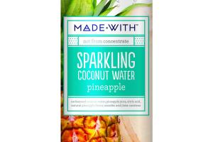 PINEAPPLE SPARKLING COCONUT WATER