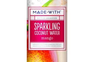 MANGO SPARKLING COCONUT WATER