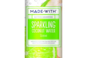 LIME SPARKLING COCONUT WATER