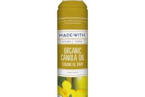 ORGANIC CANOLA OIL COOKING OIL SPRAY