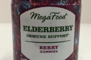 Elderberry Immune Support Berry Gummies Dietary Supplement
