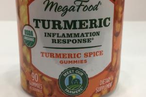 Turmeric Spice Gummies Dietary Supplement