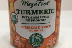Turmeric Spice Gummies Dietary Supplement