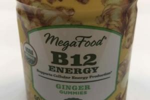 B12 ENERGY GINGER GUMMIES DIETARY SUPPLEMENT