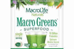38 NUTRIENT-RICH SUPERFOODS DIETARY SUPPLEMENT