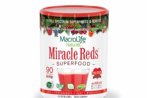 MIRACLE REDS 19 FULL SPECTRUM SUPERFRUITS & BERRIES SUPERFOOD DIETARY SUPPLEMENT