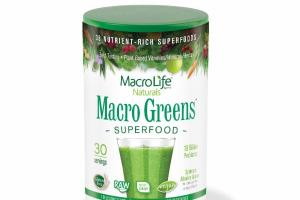 38 NUTRIENT-RICH SUPERFOODS DIETARY SUPPLEMENT